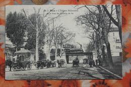 NICE - L'Avenue Malausséna Et Le Pont Du Chemin De Fer - Kleidman 39 - Train - Transport (sea) - Harbour