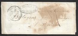 1844 - LAC - MONFLANQUIN ( Lot Et Garonne ) A BORDEAUX - Lettre Commercielle - 1801-1848: Précurseurs XIX
