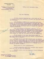 COURRIER  FAISANT ALLUSION AUX HOMMES DE LA RETRAITE ET AUX CAGOULARDS  ET GENERAL DE GAULLE 09/1945 - 1939-45