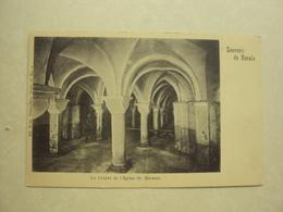 30426 - RENAIX - RONSE - LA CRYPTE DE L'EGLISE ST. HERMES - ZIE 2 FOTO'S - Ronse