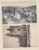 9AL276 GRAND ANDELY Lot De 2 Cartes GENDARMERIE EGLISE   2 SCANS - Les Andelys