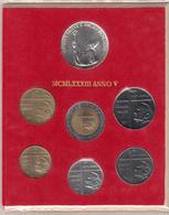 Vaticano Serie 1983 Giovanni Paolo II Anno V Serie Divisionale FDC - Vaticano
