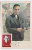 CARTE MAXIMUM CM Card USSR RUSSIA Scout Richard Zorge Far East Japan War 2nd WW - 1923-1991 URSS