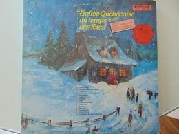 Soirée Québécoise Du Temps Des Fêtes (2 LP) - Christmas Carols