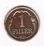 1  FILLER 1934  HONGARIJE/1116/ - Hongrie