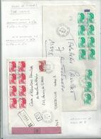 3 L Dont 2 LR   Avec  LIBERTE  Affranchissement EN NOMBRE  ....à Voir - 1982-90 Liberty Of Gandon