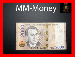 ARMENIA 2.000  2000 Dram 2018  P. NEW UNC - Armenia