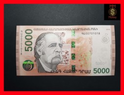 ARMENIA 5.000  5000 Dram 2018  P. NEW  UNC - Arménie