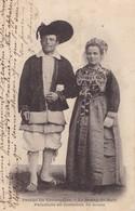 LE BOURG DE BATZ - Paludiers En Costumes De Noces - Batz-sur-Mer (Bourg De B.)