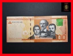 DOMINICANA REPUBLIC 100 Pesos  2017   P. NEW  NEW HOLOGRAM UNC - Dominicaine