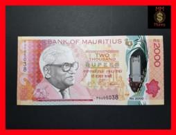 MAURITIUS 2.000  2000  Rupees  2018 P. NEW  POLYMER UNC - Mauritius