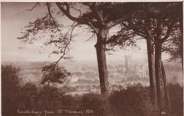 CANTERBURY FROM ST THOMAS HILL - Canterbury
