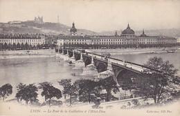 CPA Lyon - Le Pont De La Guillotière & Hôtel-Dieu (39339) - Lyon