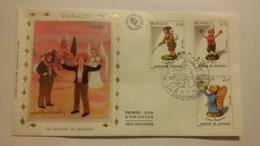 MONACO ..1°  Jour.d'émission..FDC ..1984 ..  Les  Santons De  Provence - Joint Issues