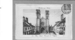 Chalon Sur Saône.Cathédrale St Vincent - Chalon Sur Saone