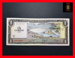 EL SALVADOR 1 Colon 19.6.1980 P. 125 B AU \ UNC - Salvador