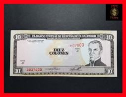 EL SALVADOR 10 Colones 9.2.1996 P. 144  UNC - Salvador