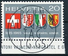432 / 819 Mit Ersttag-Vollstempel & Gummi Kat. SBK SFr. 25.-- - Suisse