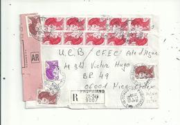 3 L Dont 2 LR....   Avec  LIBERTE  Affranchissement EN NOMBRE  ....à Voir - 1982-90 Liberty Of Gandon