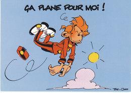 Spirou Et Fantasio Spirou Ca Plane Pour Moi (2 Scans) - Bagne & Bagnards