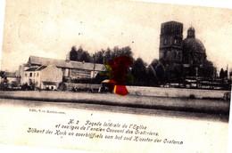 Façade Latérale De L'Eglise Et Vestiges De L'ancien Couvent Des Oratoriens- Envoyée De MONTAIGU - Zonder Classificatie