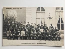 AK Manoeuvres Du Sud Ouest 1907 Stamp Pyrenees Pau - Manoeuvres