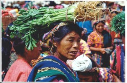 GUATEMALA - Mujer -Mercado - Guatemala