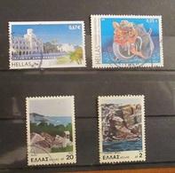 Grecia Greece 1978 - 2008 Touristic Landscapes And Mitology - Grecia