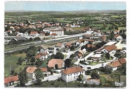 Le Valdahon - Le Quartier De La Gare  - Vue Aérienne - France