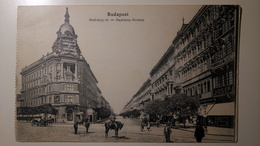 Hungary, Magyarország - Budapest - Andrássy út, Andrássy Strasse - 1914? - Animee  [TM/Lpt100e] - Ungheria