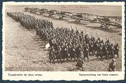 Armée Belge - Série Ceux Qui Veillent - Coopération De Deux Armes - Côte D'Or - Weltkrieg 1939-45