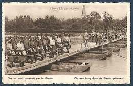 Armée Belge - Série Ceux Qui Veillent - Sur Un Pont Construit Par Le Génie - Côte D'Or - Weltkrieg 1939-45