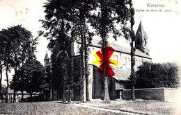 WATERLOO - Eglise De Mont Saint-Jean - Carte Circulée En 1907 - Waterloo