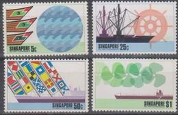 Singapore 1975 Min°228-231 4v MNH - Singapore (1959-...)