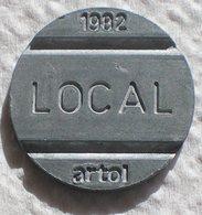 Brasil Telephone Token  1982 LOCAL Artol  Logo 8 - Noodgeld