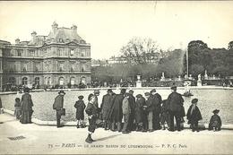 PARIS 6  -- Le Grand Bassin Du Jardin Du Luxembourg                   -- PPC 73 - District 06