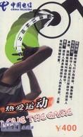 TARJETA TELEFONICA DE CHINA. BASKETBALL. I Love The Game - 1/4. MY-JLT-2004-11-38- (4-1). (303) - Cina
