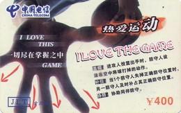 CHINA. BASKETBALL. I Love The Game - 4/4. MY-JLT-2004-11-38- (4-4). (306) - Cina