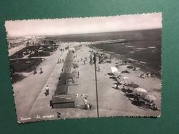 Cartolina Pesaro - La Spiaggia - 1951 - Pesaro