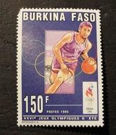 TIMBRE BURKINA NEUF SANS CHARNIERE JEUX OLYMIQUE D' ETE BASKET  BALL  1995  N° 932 - Burkina Faso (1984-...)