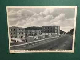 Cartolina Pesaro - Caserma Aldo Del Monte - Scuola Allievi Ufficiali - 1940 - Pesaro