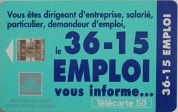 3615 Emploi - France - 1996 - Télécartes