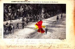Camp De BEVERLOO - Vue Prise Sur La Chaussée De Wychmael - (cavaliers Militaires) - Leopoldsburg (Kamp Van Beverloo)