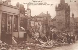 HERVE - Guerre 1914 (06/12/14) - Rue De La Station - Herve
