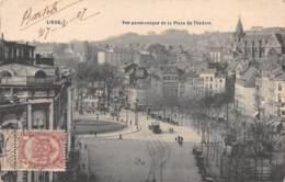 LIEGE - Vue Panoramique De La Place Du Théâtre - Liège