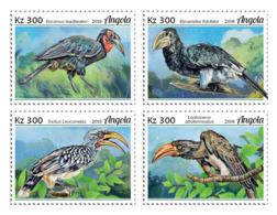 Z08 ANG18122a ANGOLA 2018 Hornbills MNH ** Postfrisch - Angola