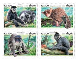 Z08 ANG18123a ANGOLA 2018 Primates MNH ** Postfrisch - Angola