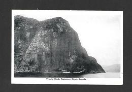 SAGUENAY - QUÉBEC - CAPS TRINITÉ ET RIVIÈRE SAGUENAY - TRINITY ROCK SAGUENAY RIVER PAR THE FEDERATED PRESS - Saguenay