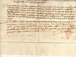 Italie - France - Lettre De 1706 (5 Juillet) - Provénant De Rome Et Destiné à Lille - Deux Différentes écritures; - Italië