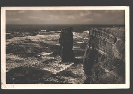Helgoland - Nordspitze Bei Sturm - Fotokarte - 1935 - Helgoland